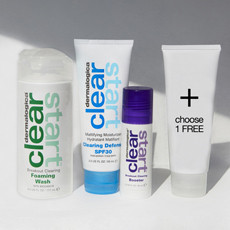 clear start skincare plan