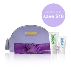 NEW! clear start holiday gift set